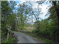NM9145 : Warning sign said Weak Wall, must be the bridge? by Steve  Fareham
