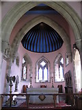 NY9449 : St. James's Church, Hunstanworth - chancel by Mike Quinn