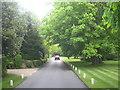 SU9987 : A private road in Gerrards Cross by Rod Allday