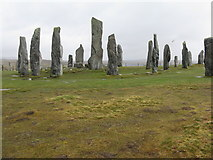 NB2133 : Standing stones of Calanais by M J Richardson