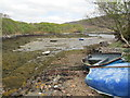 NG7040 : Moorings near Aird Dhubh by Jennifer Jones