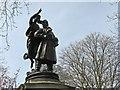 SK5639 : Nottingham Castle: statue of Albert Ball VC by John Sutton