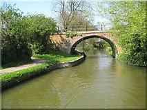 SP7288 : Grand Union Canal: Market Harborough Arm: Turnover Bridge by Nigel Cox