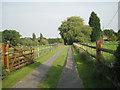 SP1167 : Drive to Church Park Farm, Ullenhall by Robin Stott