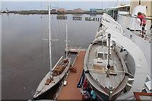 NT2677 : Royal Yacht Britannia by Billy McCrorie