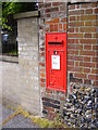 TM3389 : Wingfield Street George V Postbox by Adrian Cable