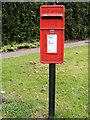 TM3489 : Mayfair Road Postbox by Adrian Cable