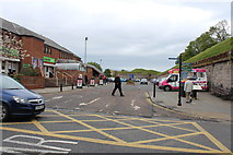 NT9953 : Entrance to Town Centre Car Park by Billy McCrorie