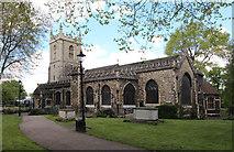 TQ3581 : St Dunstan & All Saints, Stepney by John Salmon