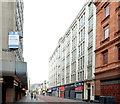 J3374 : Commonwealth House, Belfast (2013-1) by Albert Bridge