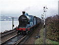 C4316 : Steam train at Waterside - 1977 by The Carlisle Kid