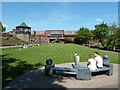 SK2003 : Tamworth - public park by Chris Allen