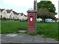 ST6417 : Sherborne: postbox № DT9 80, McCreery Road by Chris Downer