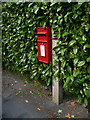 ST6413 : Longburton: postbox № DT9 50, New Cross by Chris Downer