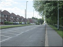 SE2436 : Leeds-Bradford Road - viewed from Bramley Fall Park by Betty Longbottom