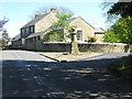 NZ2179 : An old fountain in Stannington, Northumberland by James Denham