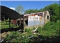 SO5195 : Disused farm buildings near Cardington by Dave Croker