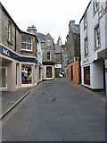 HU4741 : Commercial Street, Lerwick by Oliver Dixon