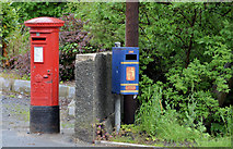J1055 : Pillar box, Waringstown (1) by Albert Bridge