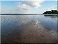 NX8450 : Tidal sands near Hestan Island by Walter Baxter
