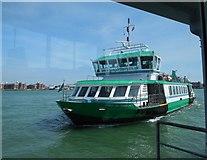 SZ6299 : Gosport Ferry arriving at Gosport by Paul Gillett