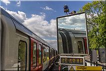 TQ0893 : Moor Park Station by Christine Matthews