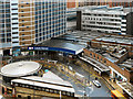 SE2933 : Leeds Station Approach and Entrance by David Dixon