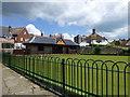 TV5999 : Motcombe Gardens Bowling Green by PAUL FARMER