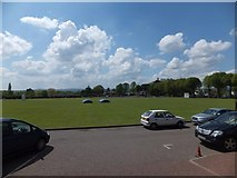 SX9392 : Exeter School cricket ground by David Smith