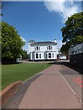 SX9392 : Part of the junior school, Exeter School by David Smith