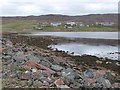HU2978 : Rocky shore at Ura Firth by Oliver Dixon