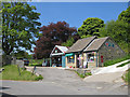 NZ7607 : Post Office and garage, Lealholm by Pauline E