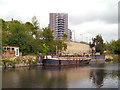 SE3132 : River Aire, Leeds by David Dixon