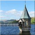 SO0511 : Valve tower and access bridge, Pontsticill Reservoir by Robin Drayton