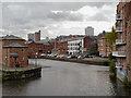 SE3033 : River Aire, Leeds Waterfront by David Dixon