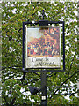 TM1036 : Case is Altered Public House sign by Adrian Cable