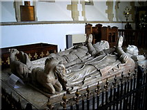 SP7006 : Lord Williams tomb in St Mary the Virgin church by Mark Percy