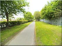 SO9394 : A4123 Footpath by Gordon Griffiths