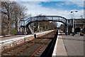 NH7882 : Railway station at Tain by Trevor Littlewood