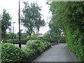 TQ3483 : Cycle path near Bethnal Green by Malc McDonald