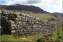NY2101 : Roman Wall by Anne Burgess