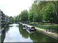 TQ3683 : Hertford Union Canal near Bow by Malc McDonald