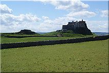 NU1341 : Lindisfarne Castle by Bill Boaden