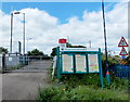 ST4787 : Level crossing gate, Caldicot by Jaggery