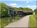 SE2734 : Leeds and Liverpool Canal, Bridge #225A (Canal Road) by David Dixon