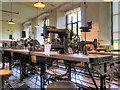 SE2734 : Machine Room, Armley Mills by David Dixon