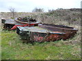 SU0749 : Westdown Camp - Tank Turrets by Chris Talbot