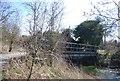 TQ5572 : Footbridge, River Darent by N Chadwick