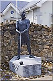 R7746 : Statue of Paddy Ryan, Pallas Grean New, Co. Limerick by P L Chadwick