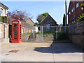 TM4679 : Telephone Box & Wangford Telephone Exchange by Adrian Cable